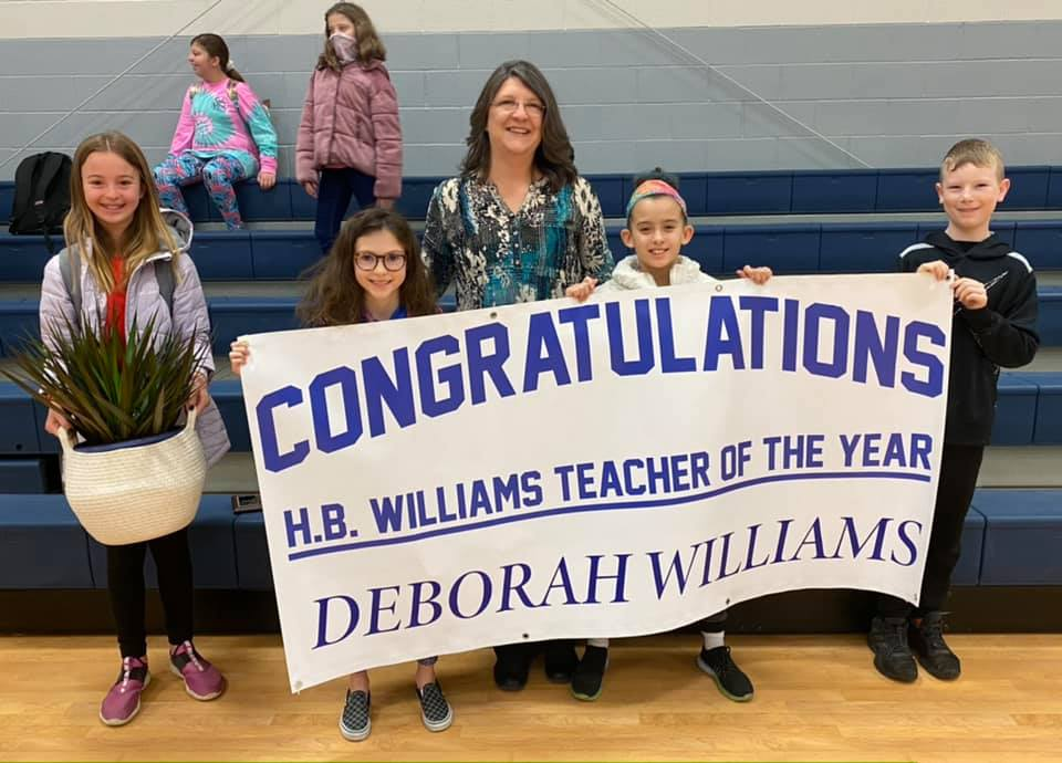Congratulations Mrs. Williams for being HBWE's Teacher of the Year